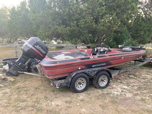 1998 Dynatrak Bass Boat 19' 4'' 200 Johnson Motor for Sale in Boerne, TX