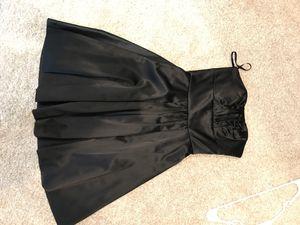 White House Black Market 00 black faux leather cocktail dress for Sale in Coto de Caza, CA