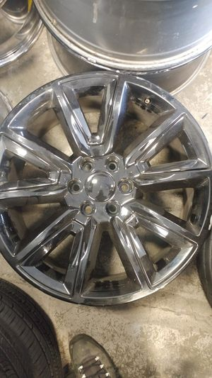 "Chevrolet or GMC 22"" 6 lug Rims for Sale in Federal Way, WA"