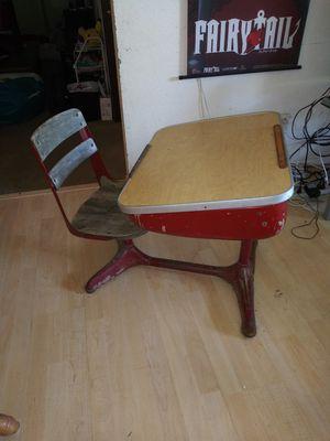 Antique Childs School Desk for Sale in Everett, WA