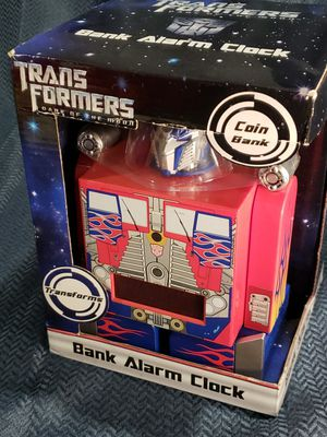 Transformers Coin Bank Alarm Clock for Sale in Los Angeles, CA