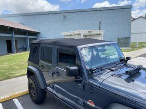 Jeep Wrangler (2007-2018) twill soft top premium for Sale in Santa Ana, CA
