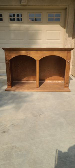Entertainment center tv cabinet for Sale in Bakersfield, CA
