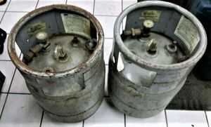 Used LP Tanks For Gas Forklift Truck PAIR As Is for Sale in Largo, FL