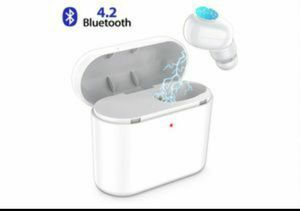 Bluetooth Earbud,ownta Wireless Headphones with Light Charging Case Headset Single Earbud Compatible Smartphone/iPhone for Sale in Rancho Cucamonga, CA