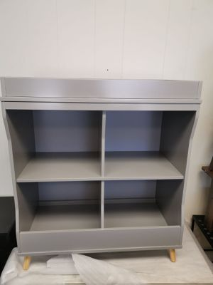 Bookcase changing table assembled for Sale in Fort Worth, TX
