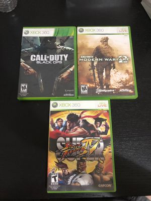 Xbox 360 Games for Sale in Elk Grove, CA