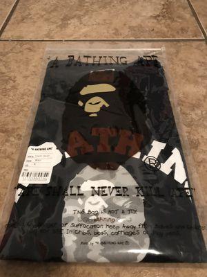 UNRELEASED Bape BLACK/GREY DOT-CAMO APE FACE T-SHIRT for Sale in Miami, FL