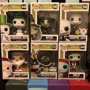Funko Pop Nightmare Before Christmas Lot for Sale in Queens, NY