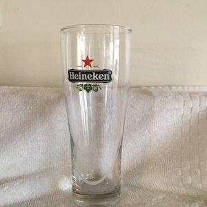 4 Heineken Pilsner Beer Glasses for Sale in Davidsonville, MD