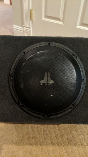 JL 10 inch subwoofer & Alpine Amp for Sale in Lakeside, CA