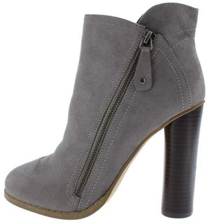 Grey Side Zip Ankle Boot for Sale in Aurora, NE