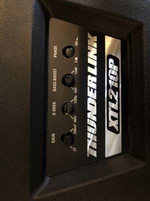 (2) MTX 10' Speakers Thunder XTL210P for Sale in Spanish Springs, NV