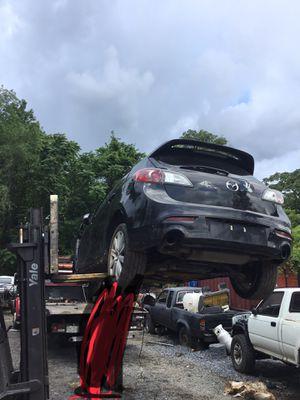 2010 Mazda 3 hatchback parts doors trunk for Sale in Silver Spring, MD