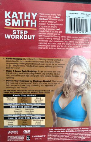 Classic Cathy Smith your leader in Total Fitness step workout for Sale in Brooklyn, NY