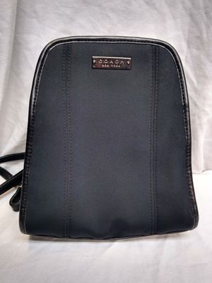COACH New York Black Mini Backpack Purse for Sale in Santa Ana, CA