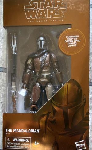 Star Wars The Black Series The Mandalorian Carbonized for Sale in Santa Ana, CA
