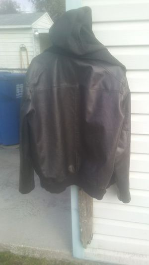 Guess leather jacket for Sale in Saint Petersburg, FL