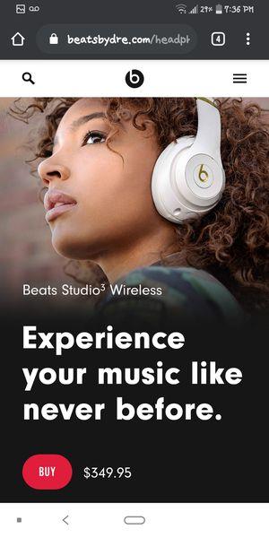 Beats Studio3 wireless headphones. for Sale in Salt Lake City, UT