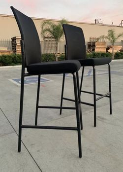 NEW $60 for 2 HON Cafe Height Office Tall Barstool Chair Bar Mesh Chair high chair barstool with backrest for Sale in West Covina,  CA