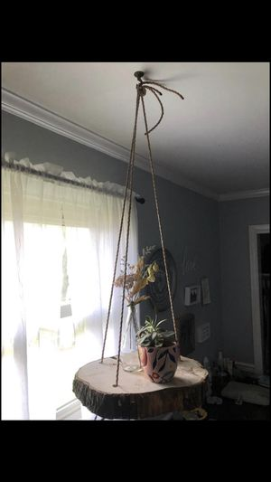 Hanging wood round for Sale in Lancaster, PA