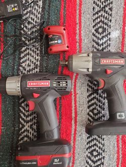 Craftsman Drill And Impact Wrench for Sale in Las Vegas,  NV