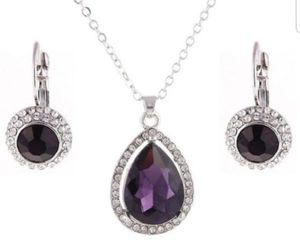 $10 new silver plated adjustable CZ necklace set for Sale in Ballwin, MO