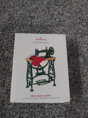 Hallmark Sew Sew Happy Ornament for Sale in Clinton Township, MI
