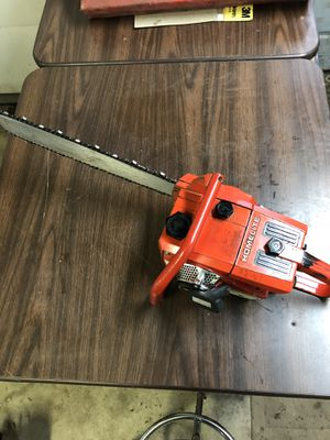Homelite E-Z automatic chainsaw vintage with case for Sale in Wauconda, IL