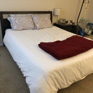 Queen Size Bedframe, no mattress for Sale in Alexandria, VA