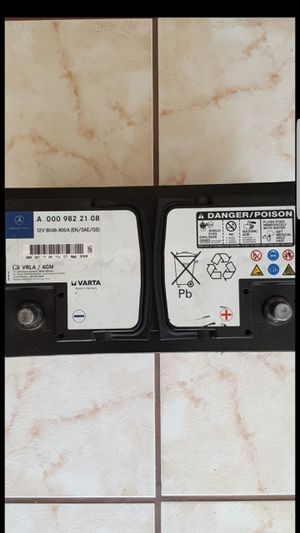 New Mercedes Benz Car Battery 12V 80Ah 800A for Sale in Placentia, CA