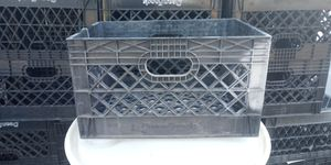 Thick milk crates for Sale in LAKE MATHEWS, CA