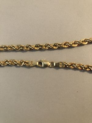 10k gold chain 100% authentic for Sale in Mesquite, TX