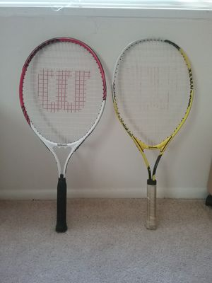 Rackets in good condition for Sale in Falls Church, VA