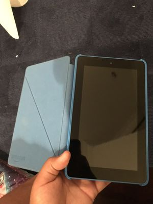 Amazon fire tablet (with case) for Sale in Chicago, IL