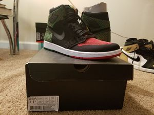 Air Jordan Retro 1 BHM Flyknit for Sale in Columbus, OH
