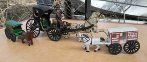 Antique metal decorative collectable toys. for Sale in Killeen, TX
