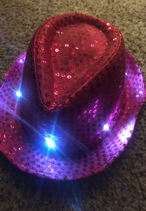 Light up New Years hat for Sale in Sacramento, CA