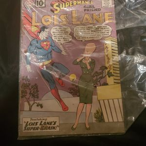 1961 Superman Comic Lois Lane's Super Brain for Sale in Grand Island, NE
