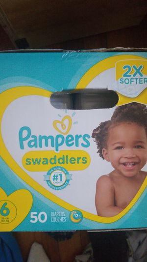 Pampers swaddled size 6 50 count for Sale in Boston, MA