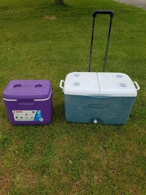 Pair of coolers for Sale in Osseo, MN