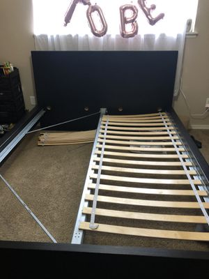 Queen size ikea bed frame for Sale in Portland, OR