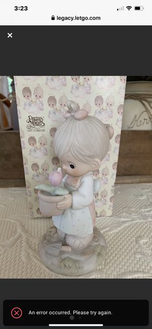 "Precious Moment Porcelain 1987 ""May"" Figurine for Sale in Danville, CA"