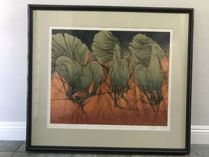 Andante II by Guillaume Azoulay color serigraph for Sale in San Diego, CA