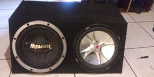Two 12 inch subwoofers for Sale in E RNCHO DMNGZ, CA