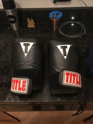 Boxing bag/gloves for Sale in Chicago, IL