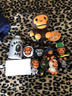 Bathing Ape Bape keychain lot for Sale in Pittsburgh, PA