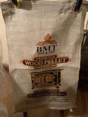 Colorful burlap sack for Sale in Goddard, KS