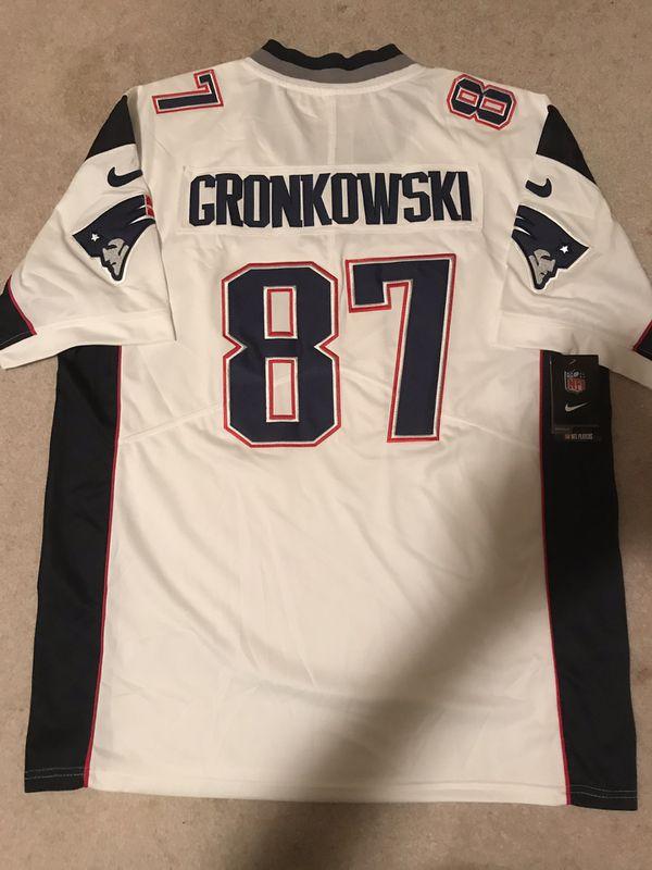 Rob Gronkowski patriots jersey size XL