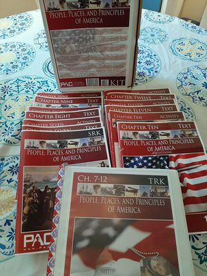 PAC People, Places, and Principles of America 7-12 for Sale in Orange, VA